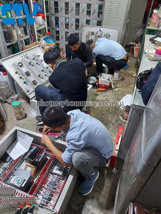 Đơn vị cung cấp tủ điện điều khiển và bảo vệ máy bơm nước tại Hà Nội