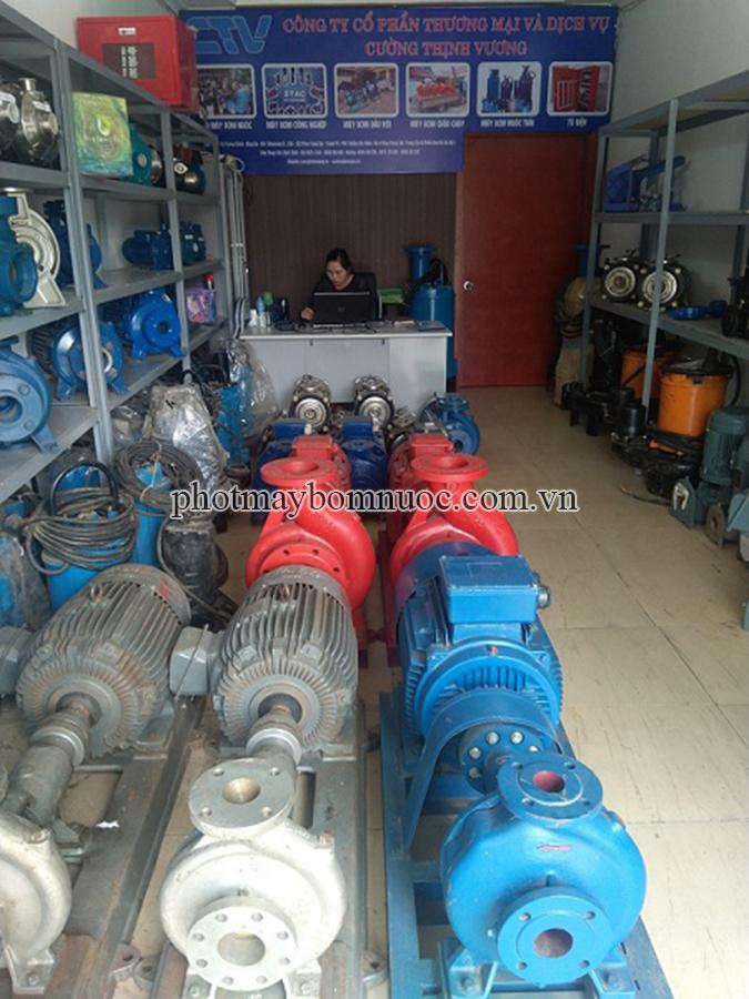 Địa chỉ cho thuê máy bơm nước giá tốt tại Hà Nội