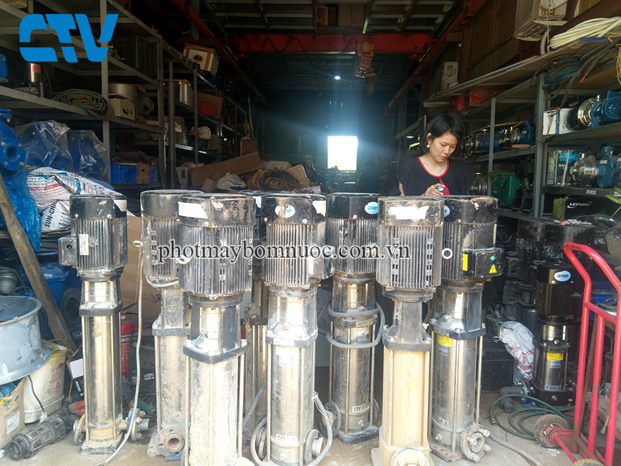 Cường Thịnh Vương cho thuê máy bơm trục đứng chất lượng, giá tốt tại Hà Nội