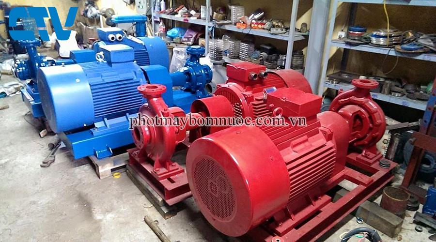 Cho thuê máy bơm công nghiệp uy tín, chất lượng, giá rẻ tại Hà Nội
