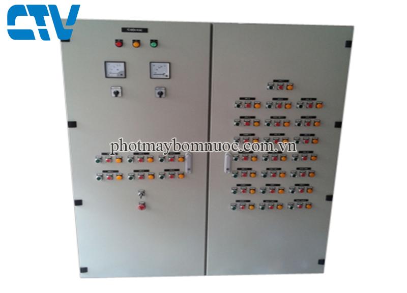 Tủ điện điều khiển máy bơm  xử lý nước thải